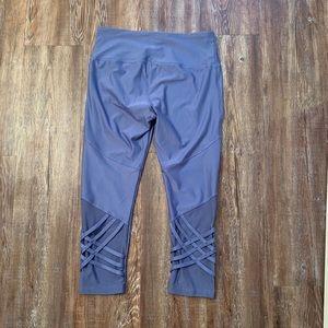 Vogo Athletica Medium Women's Cropped Blue Legging
